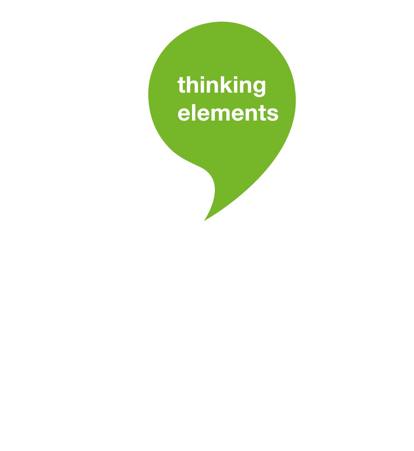 Thinking Elements Anja Maser